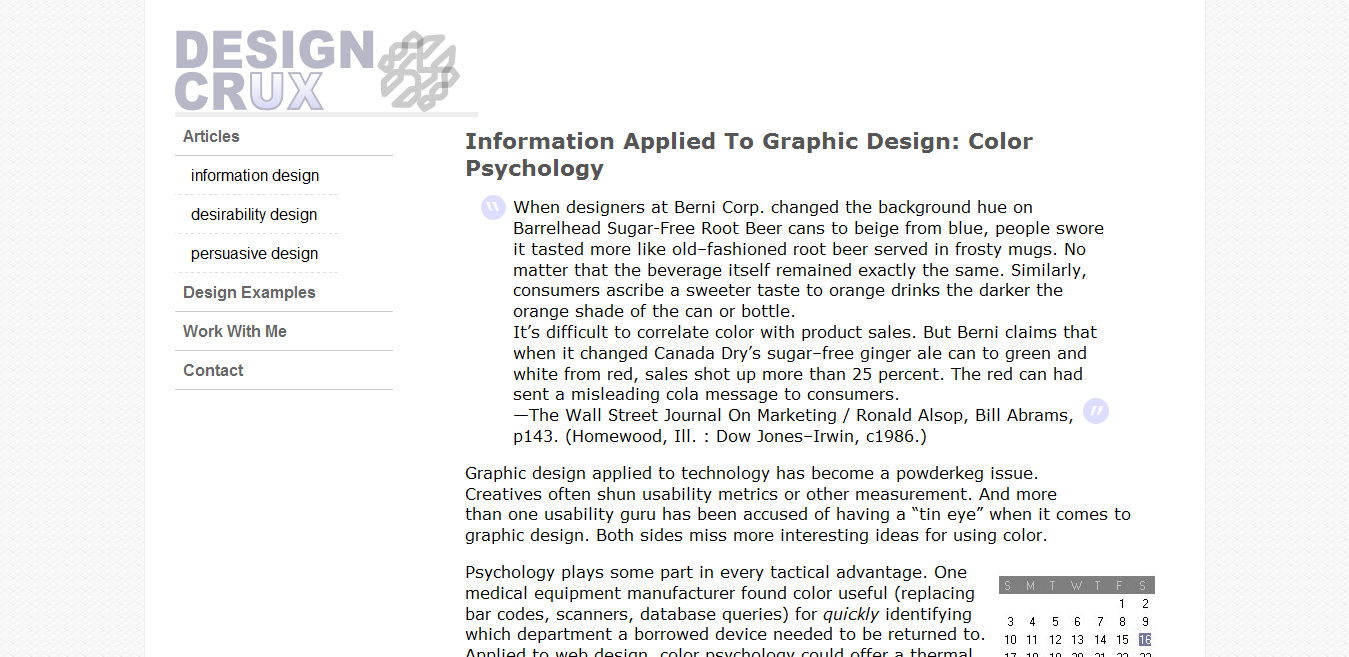 Information Applied To Graphic Design