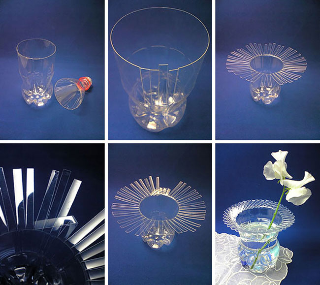 Intricate Bottle Vase