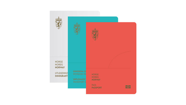 Gorgeous redesign for the Norwegian passport