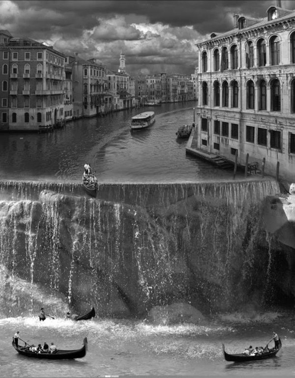 Photography manipulation by Thomas Barbey