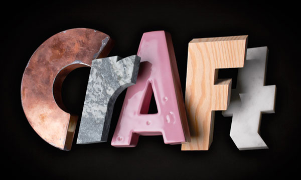 Identity for the Craft exhibition