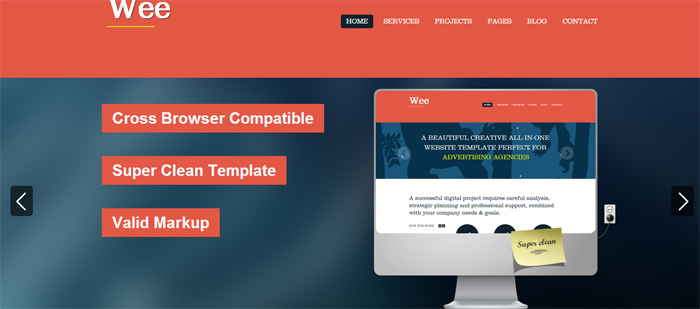 wee-html-template