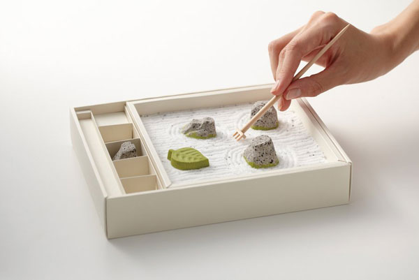 The sweetest zen garden you'll ever see