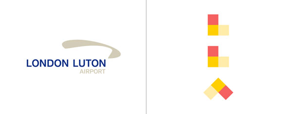 London Luton Airport get a great logo makeover