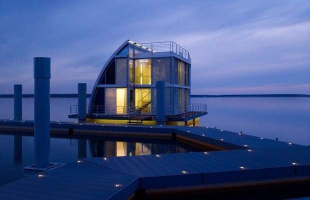 A collection of incredible houseboats