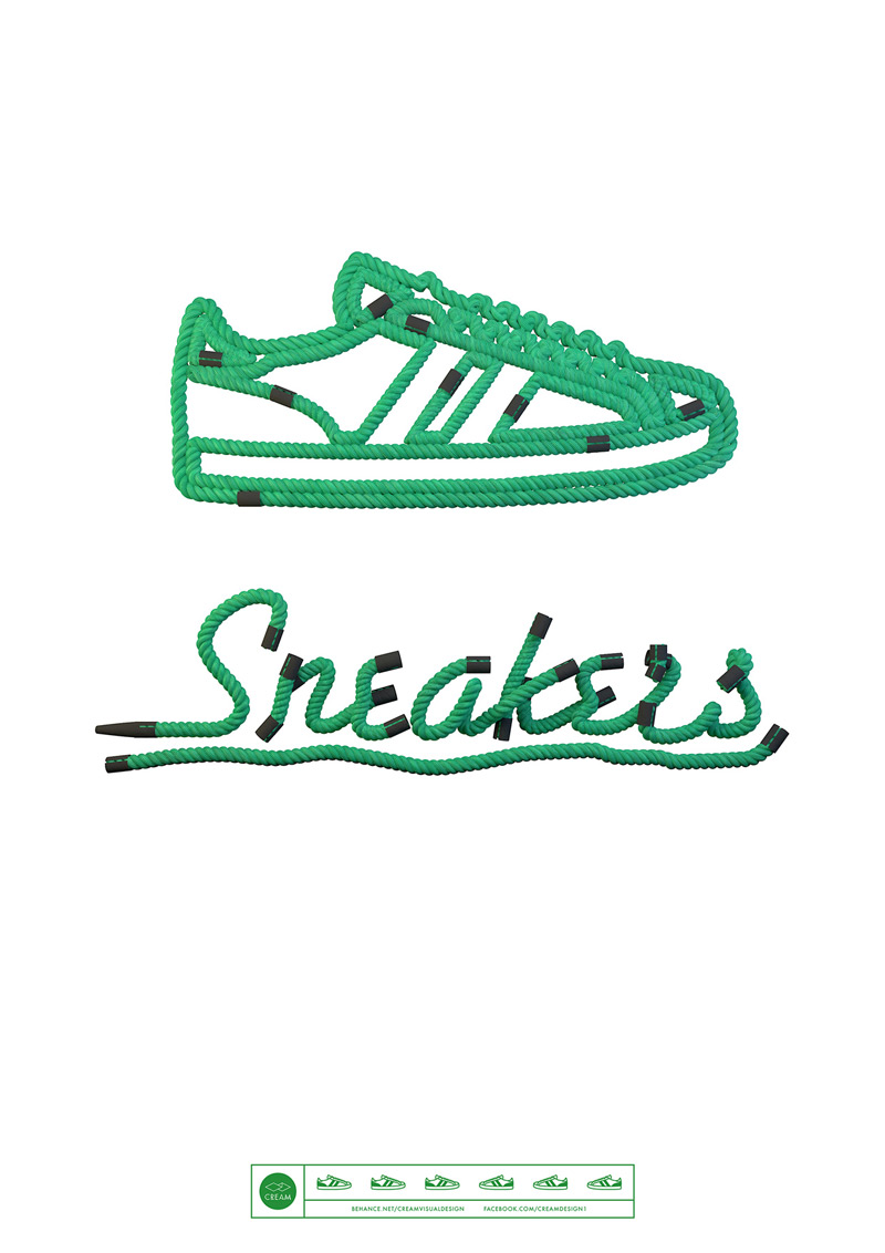 Sneakers_Typography_by_Wes_L_Cockx