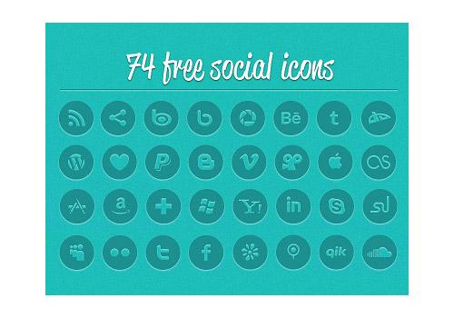 Socialico Icons