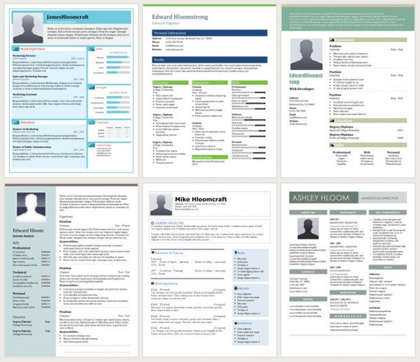 contemporary resume template - Contemporary Resume