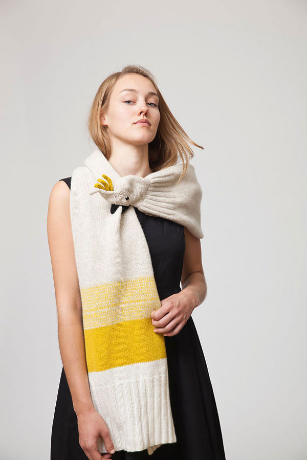 10 most creative scarves for winter