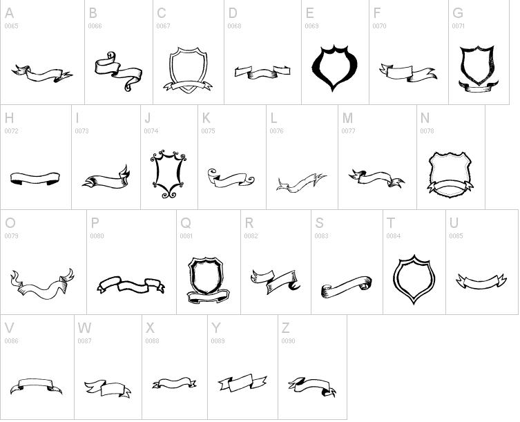 frames and ribbon