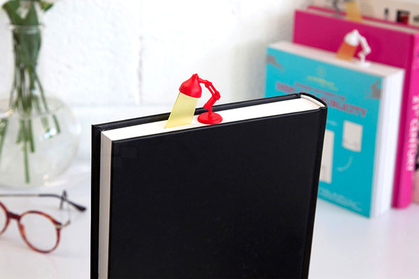 Lightmark: the bookmark that will lighten up your books