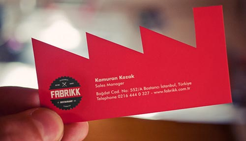 Fabrikk Business Card