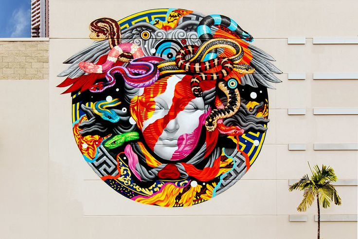 20 gorgeous pieces of street art designer daily graphic for Mural haiwan