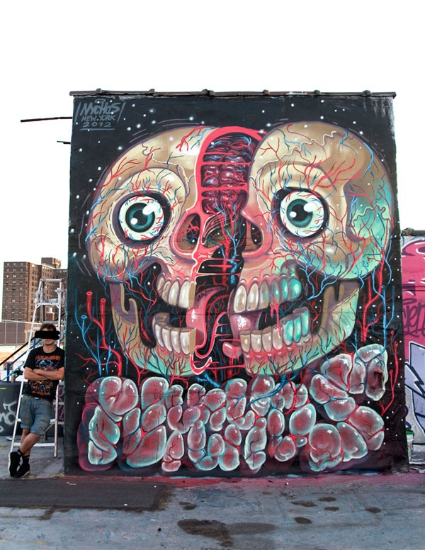 Nychos, New York, 2012