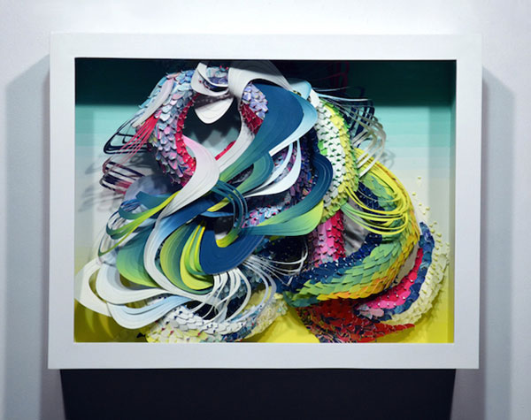 American artist Crystal Wagner creates amazing paper sculptures