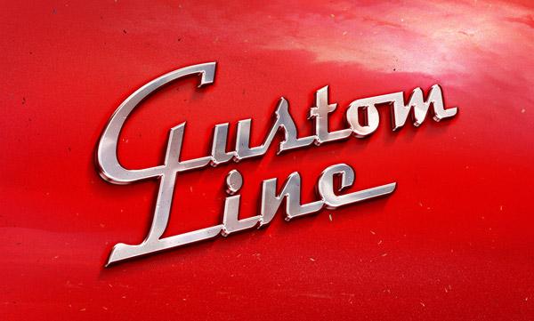 Vintage-Car-Badge-Mock-Up Old Fashioned Lettering Templates on