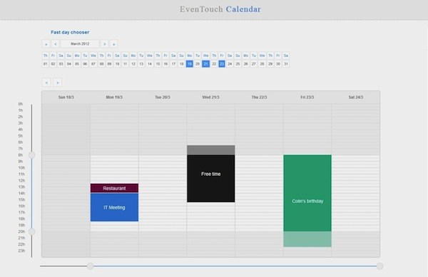 15 useful jQuery calendar plugins