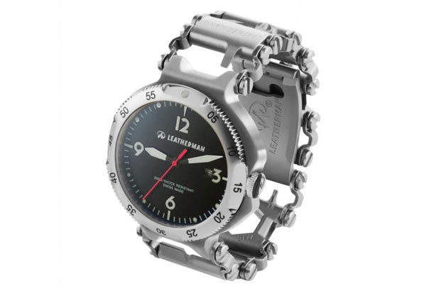 The leatherman watch: 25 tools hidden in a watch