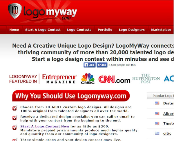 Logo designers from all over the world at LogoMyWay