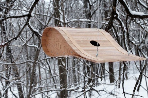 A designy birdhouse by Ryan Bruxvoort