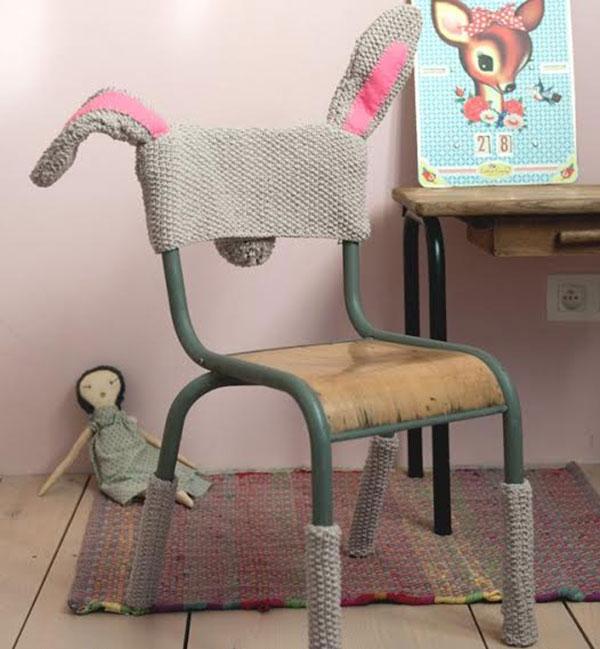 Bunny costume chair