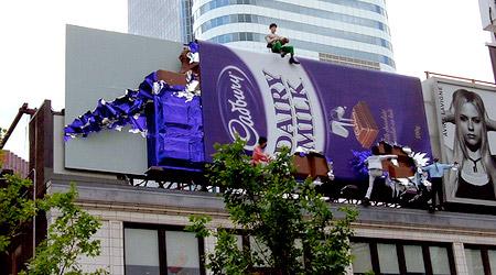 Cadbury Billboard