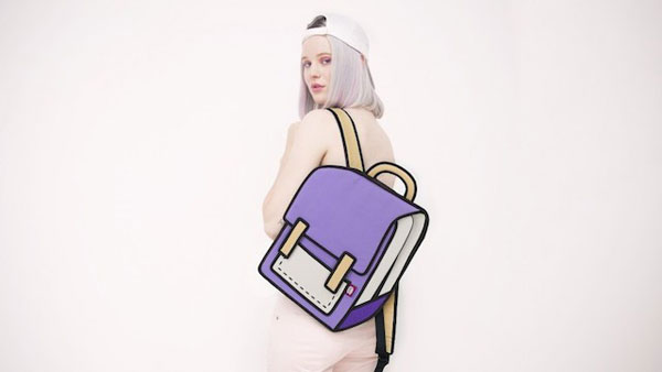 Bags that look totally cartoonish