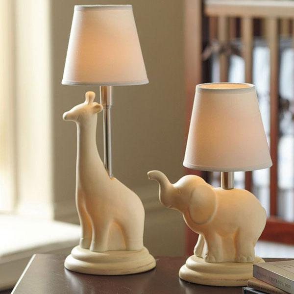 Ceramic Nursery Complete Lamps