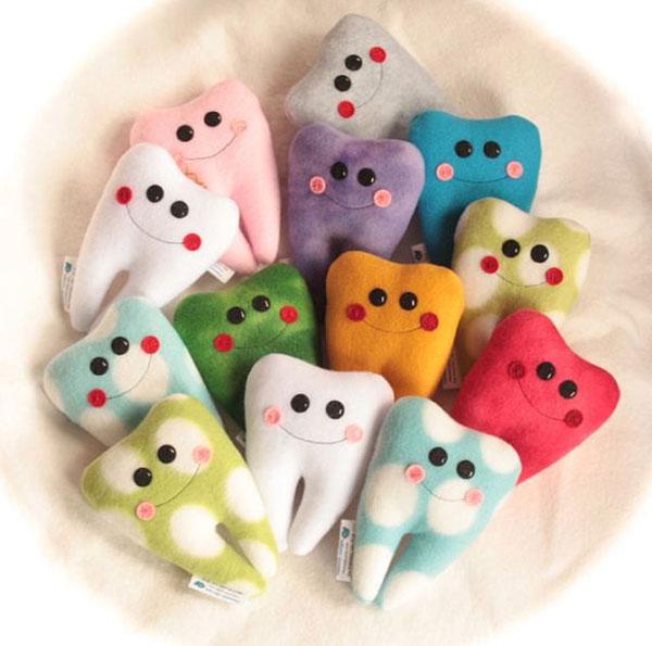 Custom 4″ Fleecy Tooth Fairy Pillow
