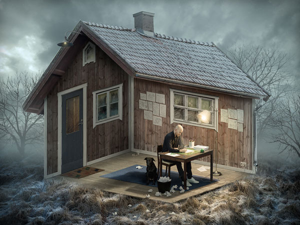 Erik Johansson published some new mind-blowing photo manipulations
