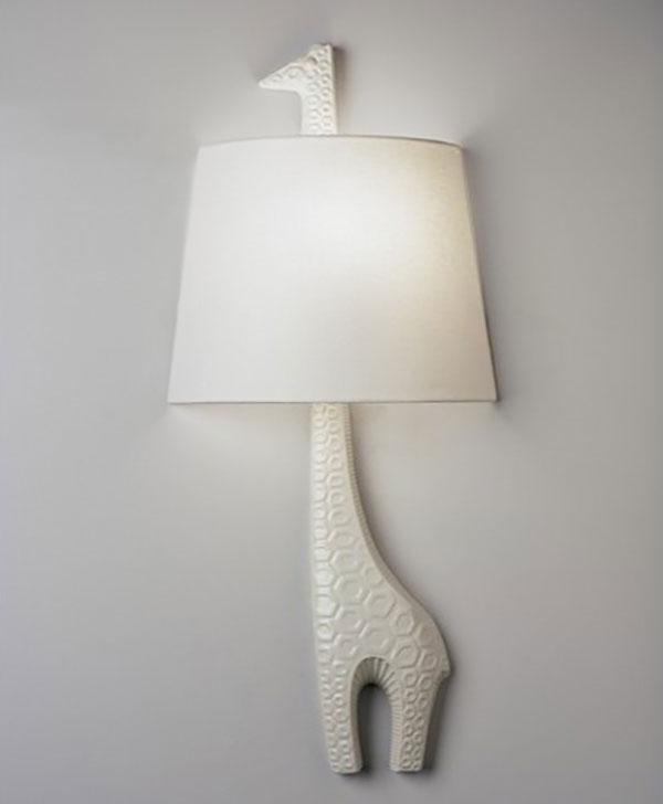 Jonathan Adler Left Facing Giraffe 1 Light Wall Sconce