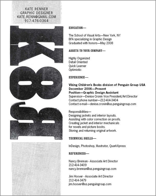good looking resume designs