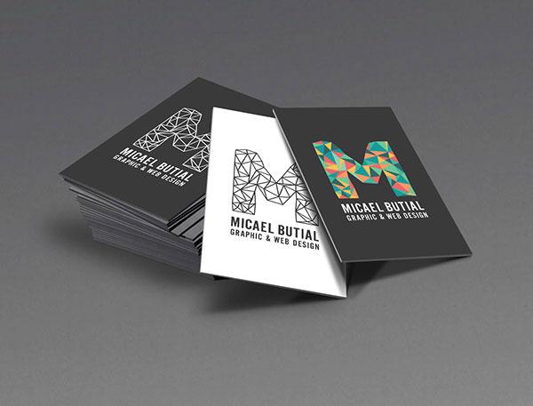 16 beautiful business card designs 5 sofi aza this personal identity business card colourmoves