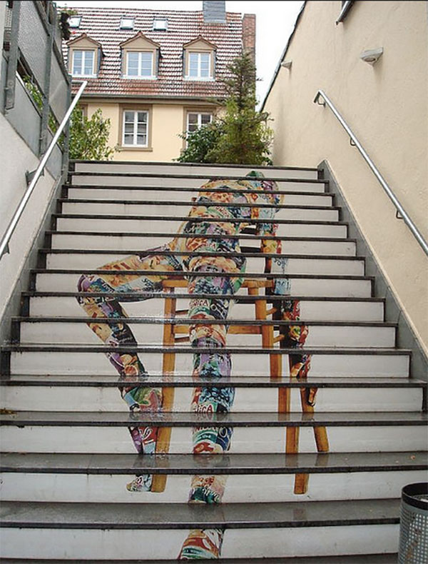 Stair Art in Heidelberg
