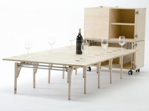 The expandable Mobile Dining unit1