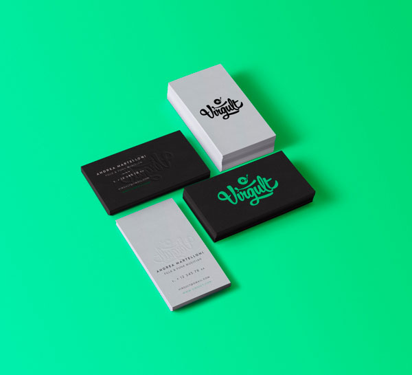 16 beautiful business card designs Designer Daily