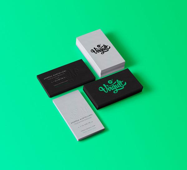 16 beautiful business card designs virgult colourmoves