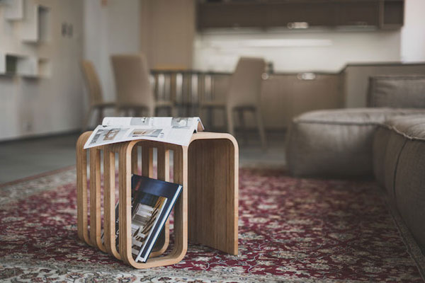 The Woodieful: a multifunctional chair for your living room