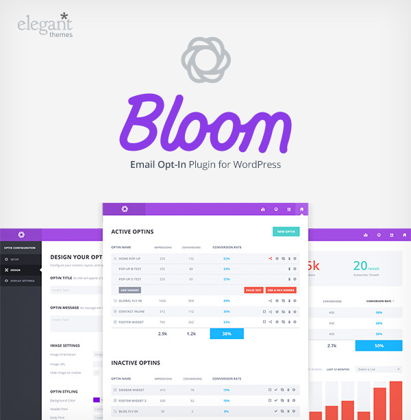 Bloom: email opt-in on steroids by Elegant Themes