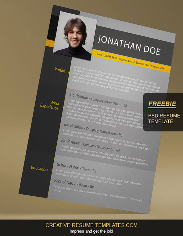 15 beautiful resume designs for your inspiration free modern resume template altavistaventures Choice Image
