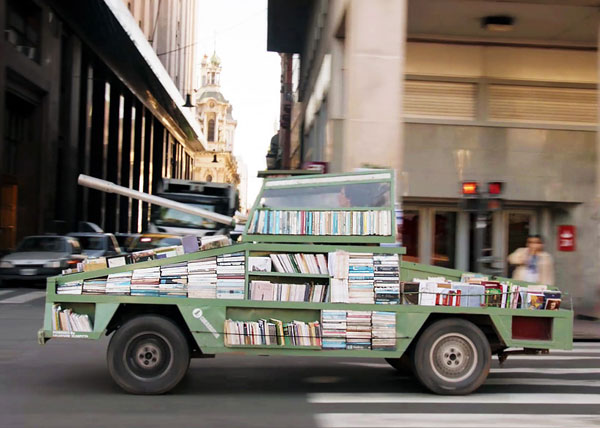 The tank library will bomb you with litterature