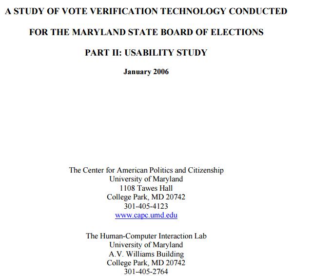 vote verification