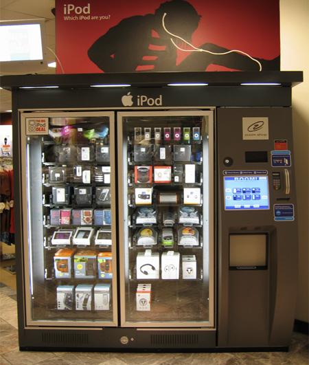 Apple iPod Vending Machine