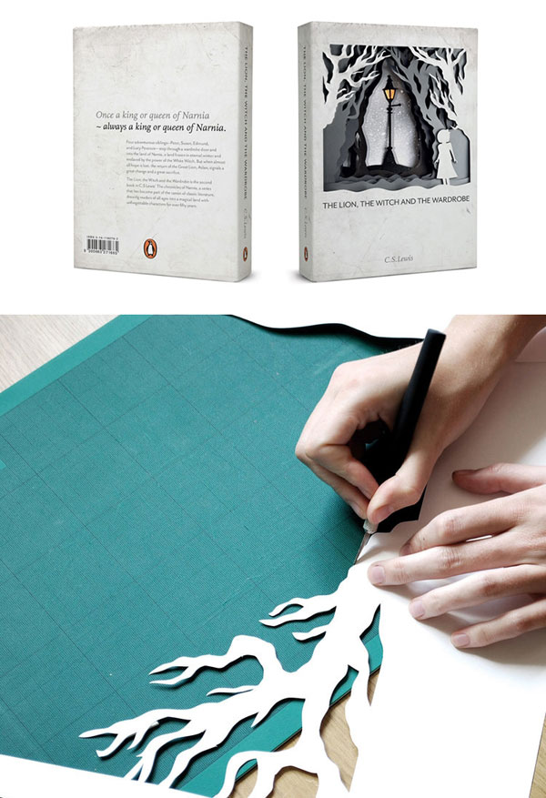 Children Book Cover Design By Hand : Iconic book covers redesigned as handmade artworks