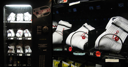Socks Vending Machine