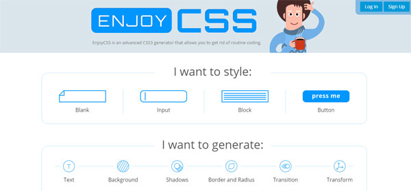 10 useful CSS generation tools for web designers
