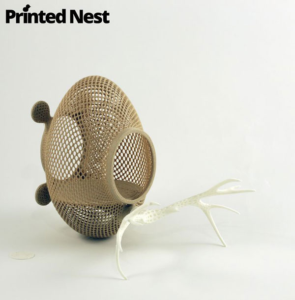 Printednest: a community built around 3D printed bird nests