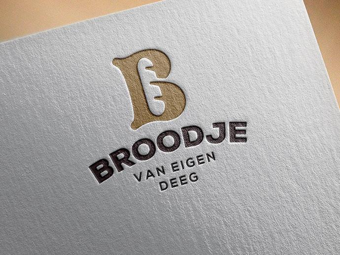 Bakery identity on print