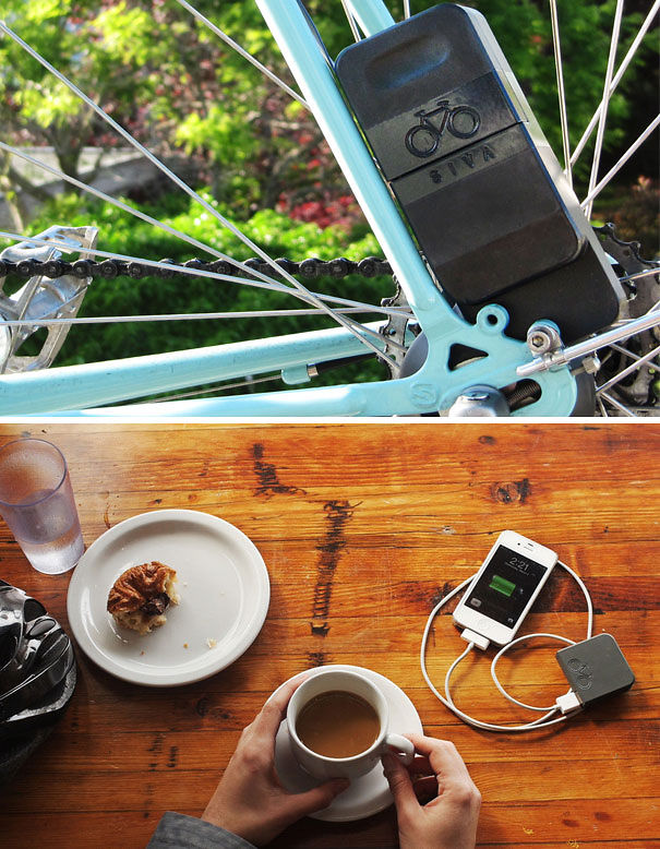 Bicycle USB Charger & Battery Pack