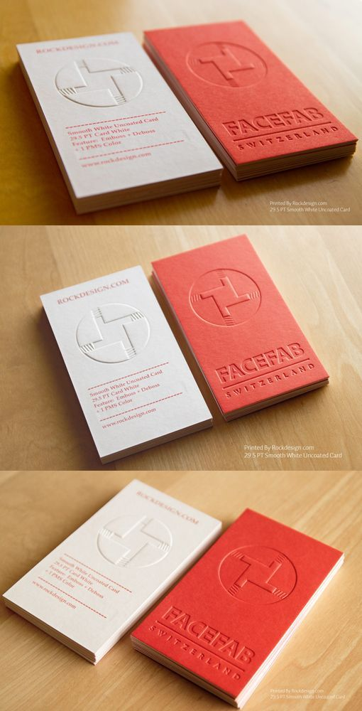 RockDesign Business Card